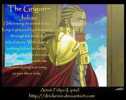 King Julian- The Grigori