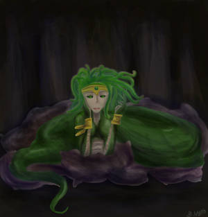 Contest Entry #19 Medusa by TheGrigoriAnime