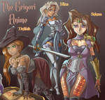 Delilah, Mina and Selena~ The Grigori