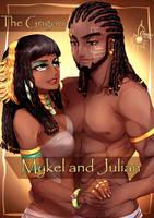 King Julian and Queen Mykel ~The Grigori by TheGrigoriAnime