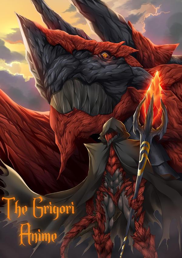 The Dragon~ The Grigori by TheGrigoriAnime