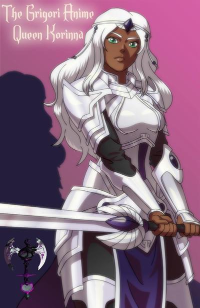 Queen Korinna~ The Grigori by TheGrigoriAnime