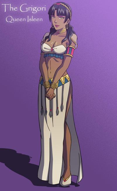 Queen Isleen- The Grigori by TheGrigoriAnime