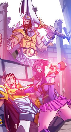 Epic Battle Scene~ The Grigori by TheGrigoriAnime