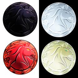 Concept Shields 4 Horseman