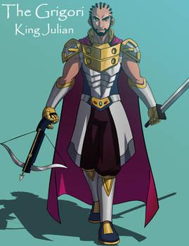 King Julian~ The Grigori Anime