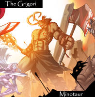 Minotaur~ The Grigori by TheGrigoriAnime