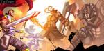 Epic Battle Scene #2~ The Grigori by TheGrigoriAnime