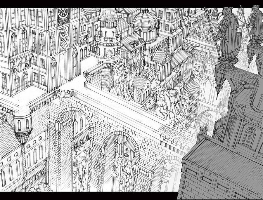 City Scene 2 Background for Animation by TheGrigoriAnime