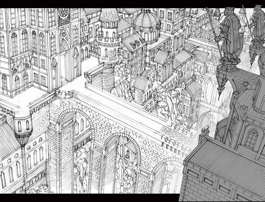 City Scene 2 Background for Animation by TheGrigoriAnime