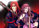 Jezebel and Hezron~ Red Hed Duo