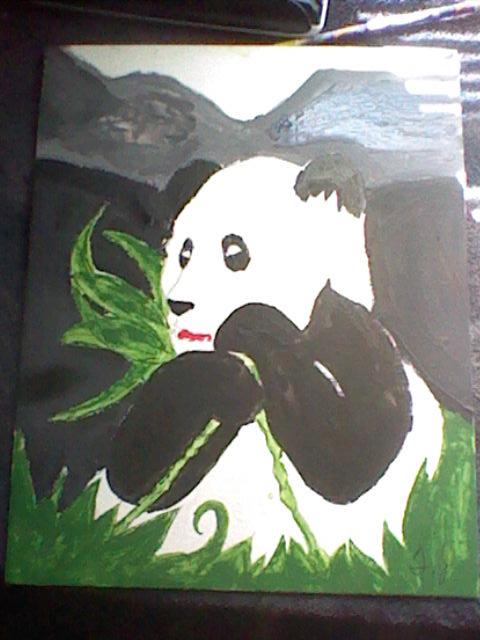 Panda Bear by TJACK2345
