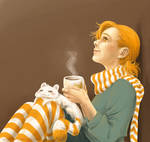 Chocolat chaud by Pinceau-Arc-en-Ciel