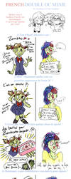 Double Cute Zombies OC meme by Pinceau-Arc-en-Ciel