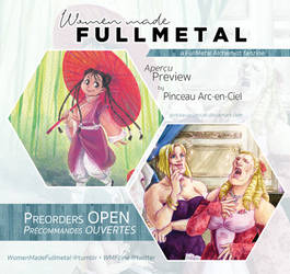 Women Made Fullmetal - zine preview by Pinceau-Arc-en-Ciel