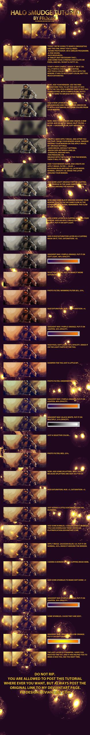 Frozen's Halo smudge tutorial by FG-design