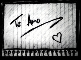 Te Amo by homrqt