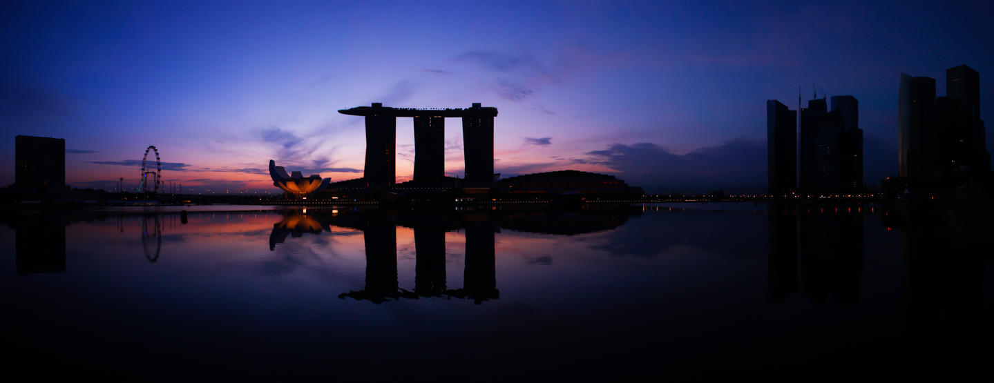 Singapore Panorama by BlueWindz23