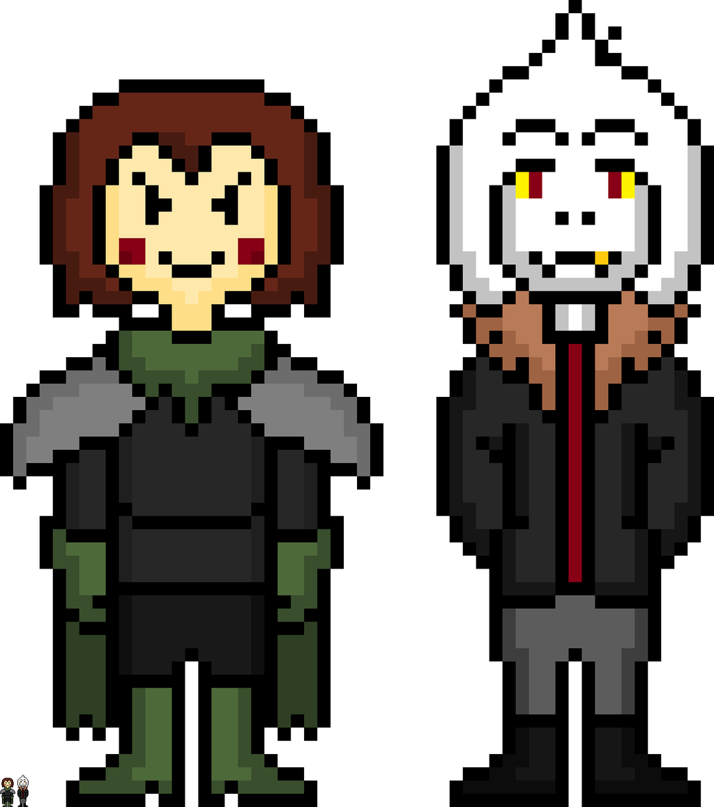 how to draw chara on roblox pixel art