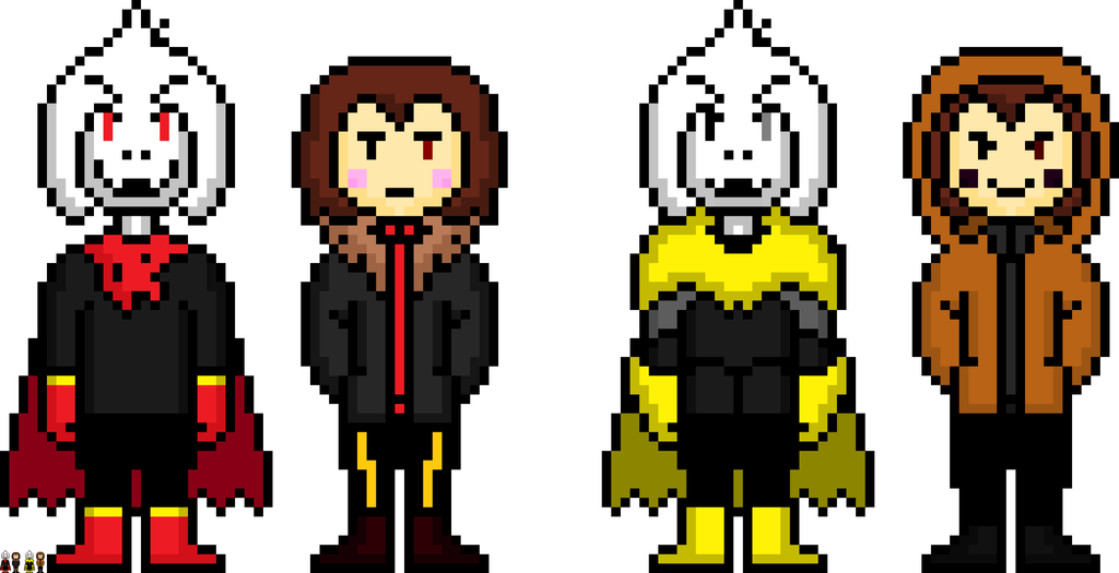 Asriel And Chara Sprite – Billy Knight