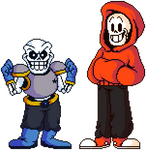 Shwapped Sans and Papyrus