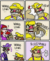 Wario loves...
