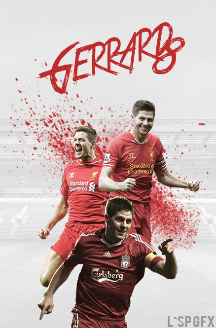 Steven Gerrard Wallpaper By Lsp Gfx On Deviantart
