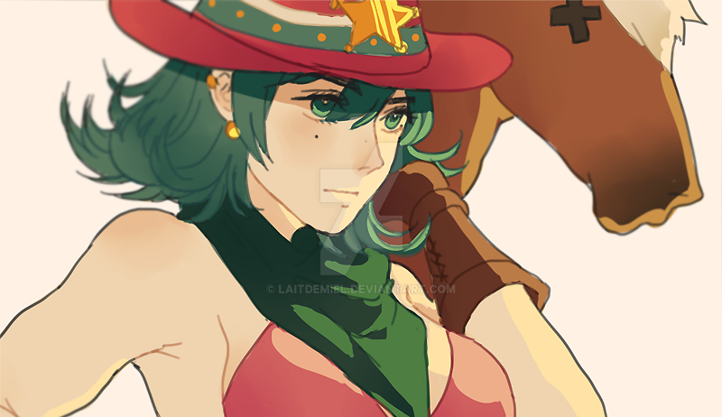 COWGIRL MAXI by LaitdeMiel
