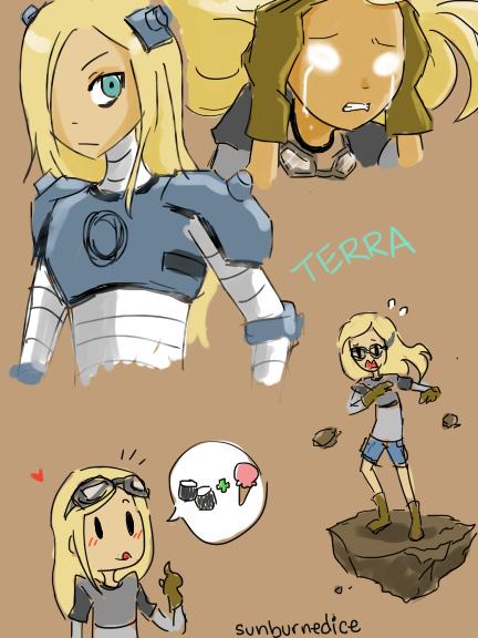 Terra Tribute by sunburnedice