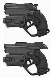 sci fi gun by genocidalpenguin