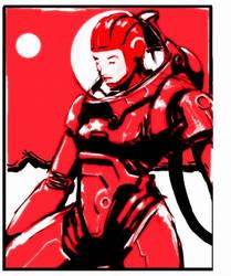 cosmonaut by genocidalpenguin
