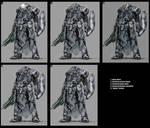 power armour marine variations