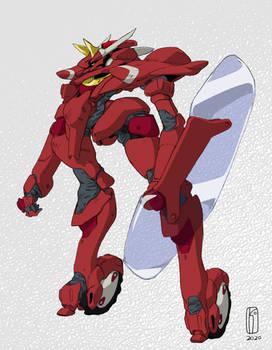 Bantam Gundam Color