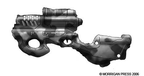TTA Terran laser rifle by genocidalpenguin