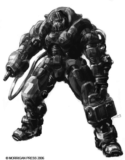 TTA Terran armoured suit by genocidalpenguin on DeviantArt