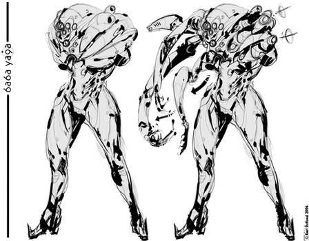 Enforcer armour - B Y