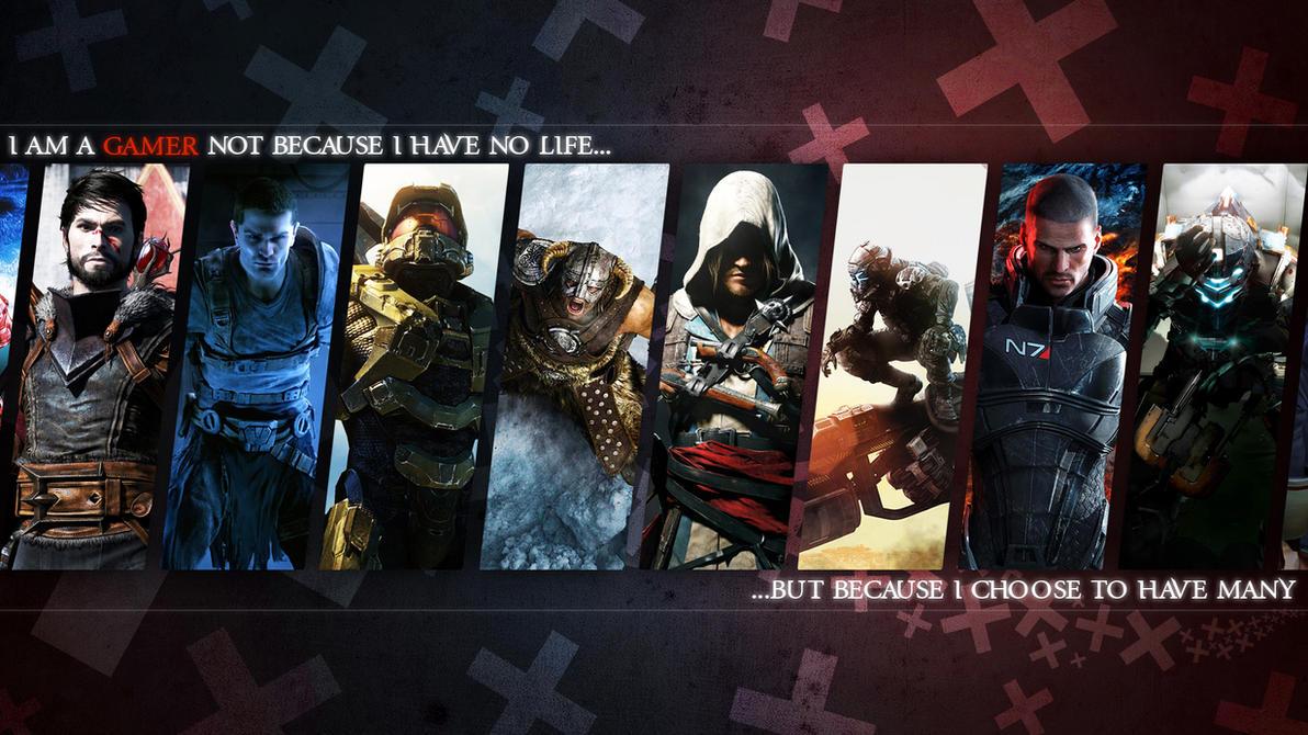 Gamer Wallpaper by MatticusIV on DeviantArt