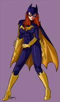 Batgirl by Sarielda