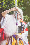 Sesshomaru cosplay III by CeroGrey