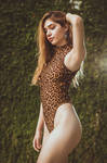leopard bikini by CeroArt