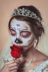 La Catrina y una Rosa by CeroArt