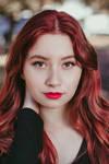 Red hair by CeroArt