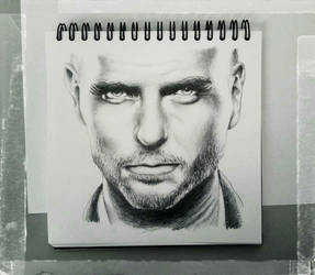 Male Sketch - Luke Goss by KleopatraAurel