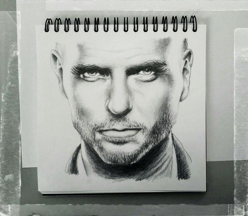 Male Sketch - Luke Goss by KleopatraAurel