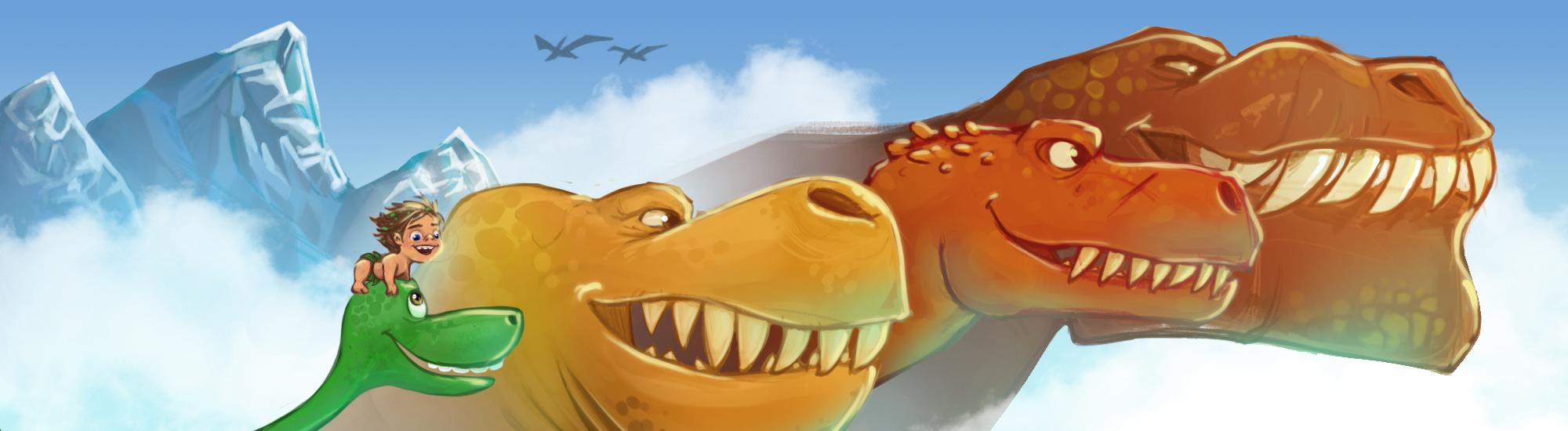 TheGoodDinosaur by thailur