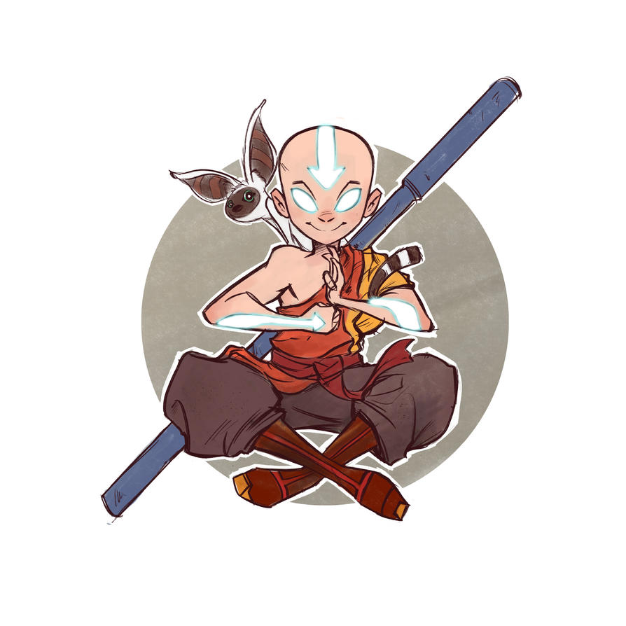 Avatar Aang by thailur