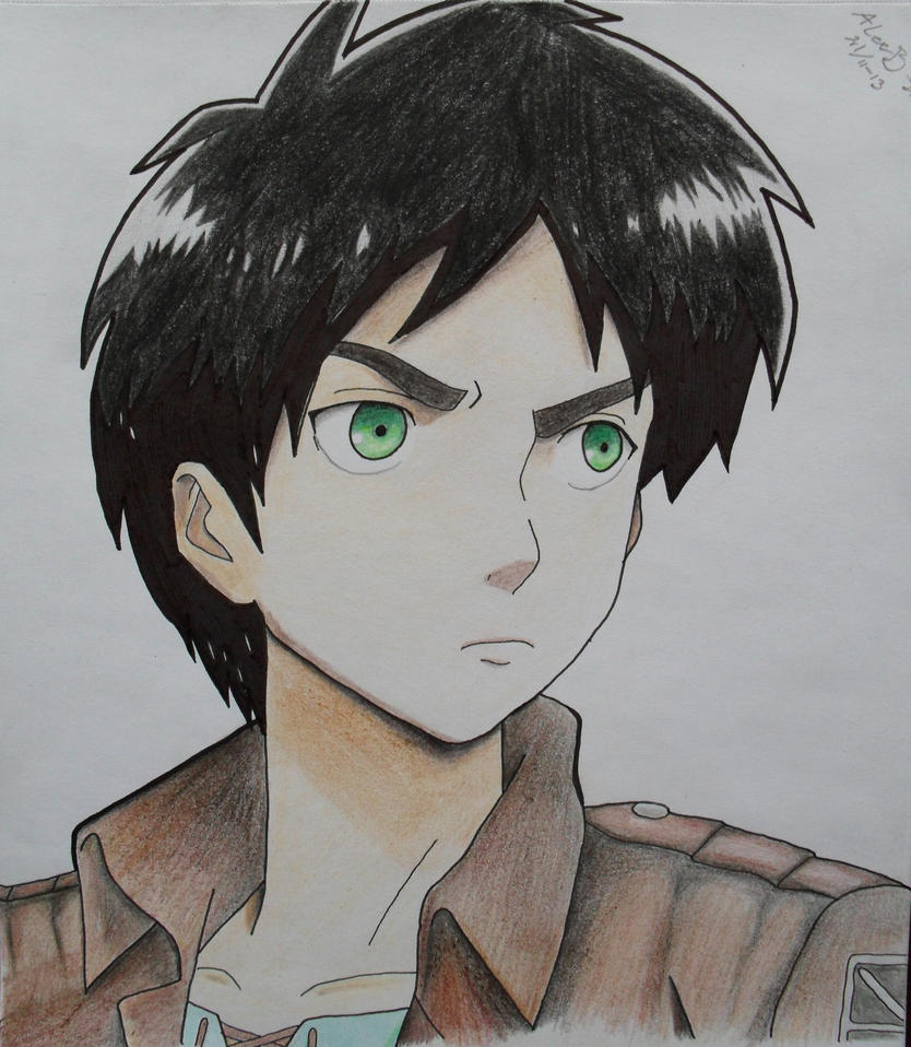 Eren - Attack on Titan by AlexsDrawings