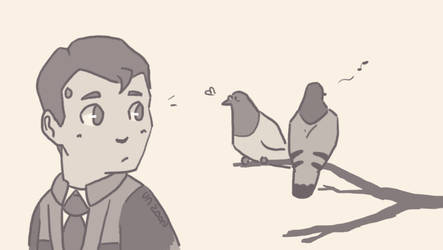 Dbh Connor X Baby Reader