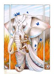 Elephant Princess by kilara