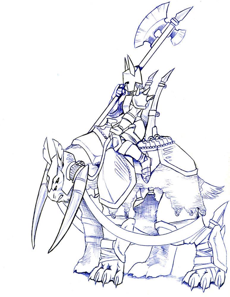 Lars Rider by kilara